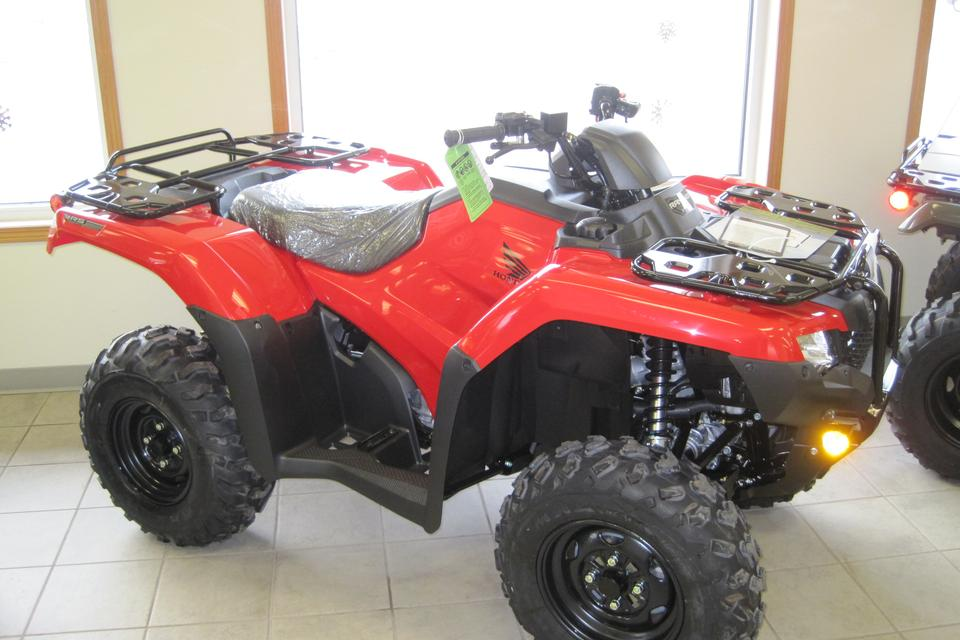 2020 Honda Rancher 4X4, EPS & Automatic Transmission, IRS (TRX420FA6) SOLD