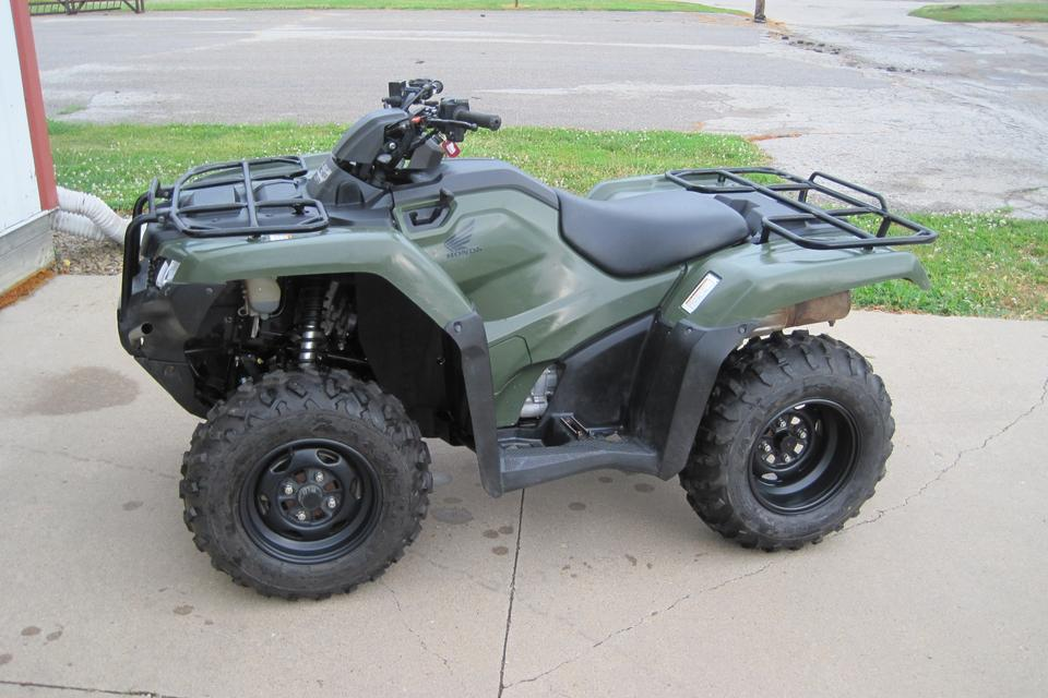 2017 Honda Rancher TRX420FA2 4X4, Automatic, Power Steering